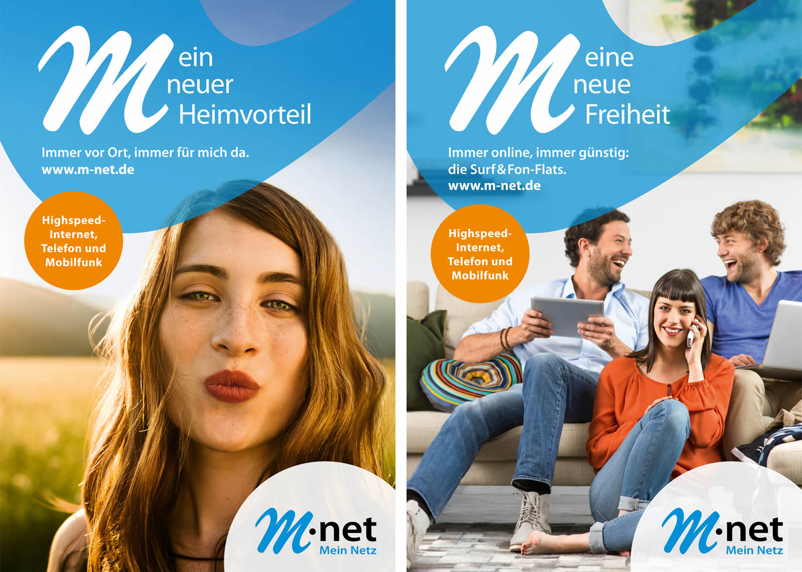 M-net Campaign by Sebastian Stiphout
